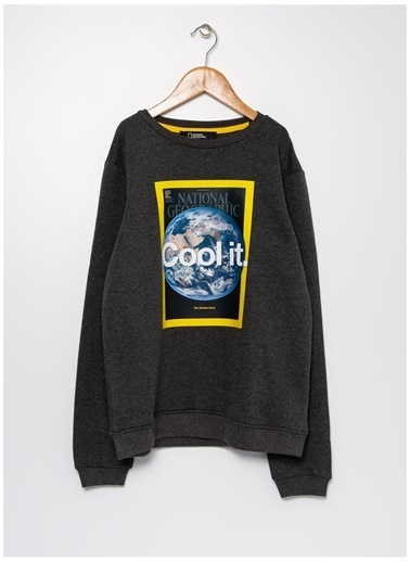 National Geographic Sweatshirt Antrasit